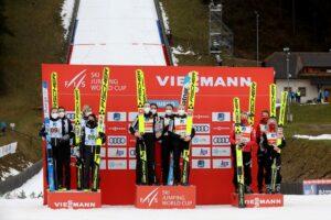 Norwegia Slowenia Austria Ljubno2021 fot.GEPAPictures 300x200 - PŚ Pań Ljubno: Pierwsze zwycięstwo Słowenek, Polki w finałowej ósemce!
