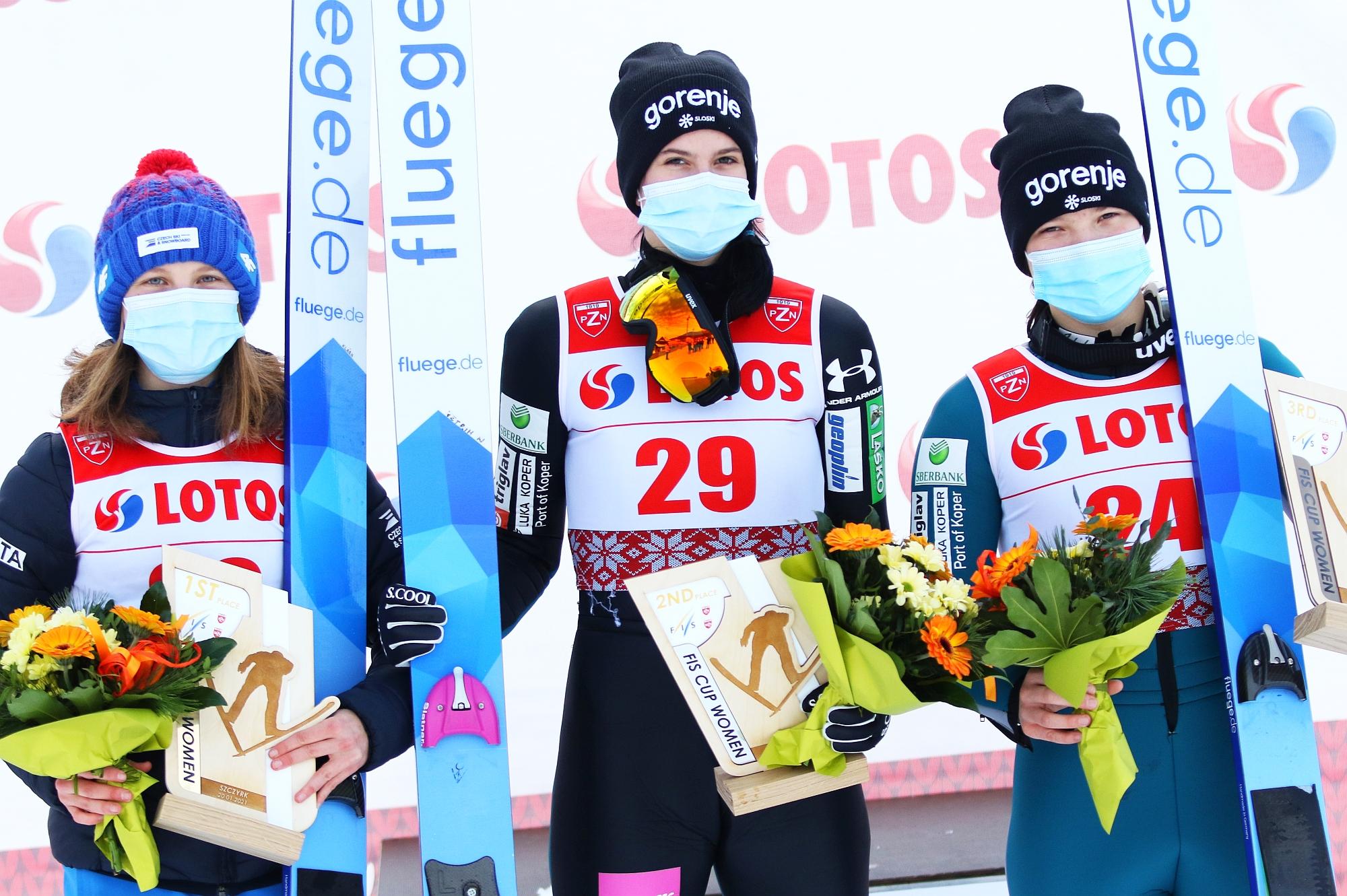 FIS Cup Szczyrk: Pierwsze zwycięstwo Vetrih, ogromny pech Karpiel