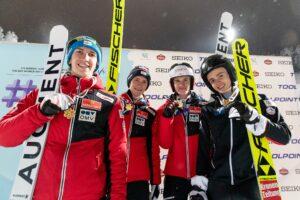 MŚ Juniorów Lahti: Austriacy znokautowali rywali i skoczyli po złoto