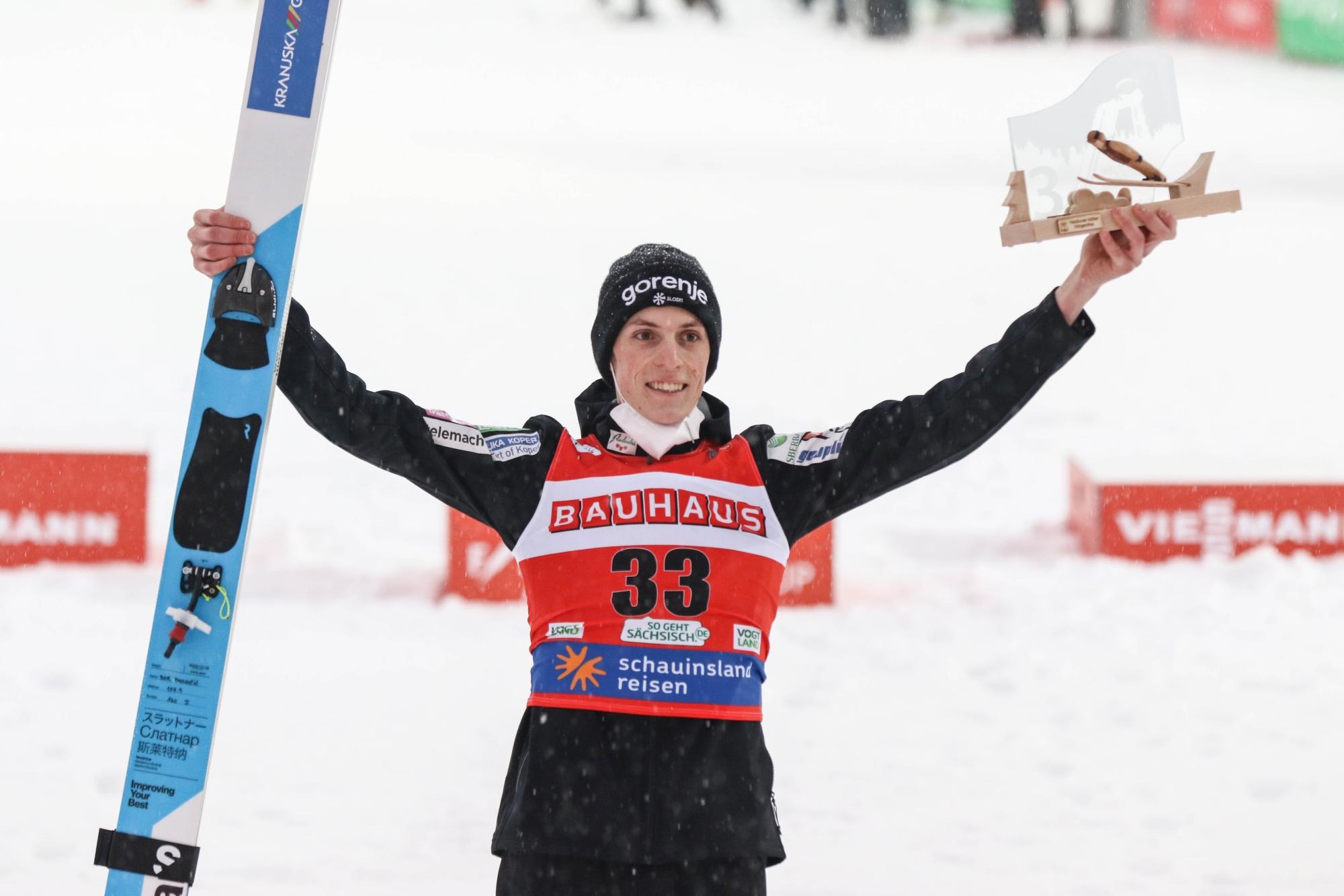 "Bor Pavlovčič: ""Mam szansę zdobyć medal w Oberstdorfie, ale będę musiał skakać lepiej"""