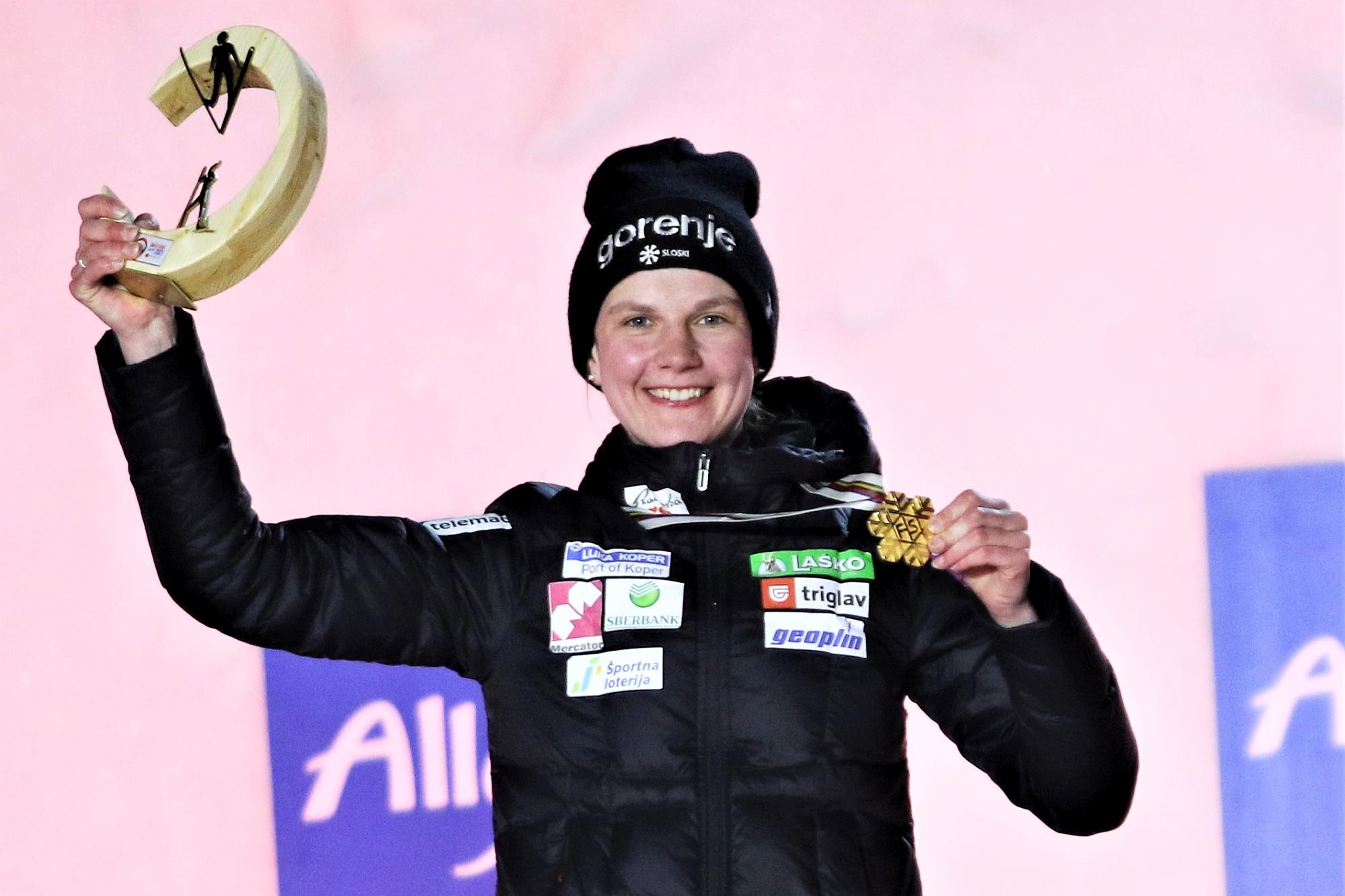 MŚ Oberstdorf: Klinec zdobywa złoto, Kramer sensacyjnie poza podium!