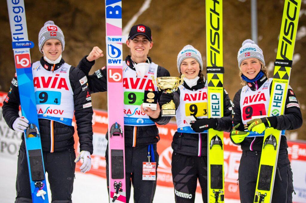 PŚ Rasnov: Norwegowie wygrywają konkurs mikstów, Polacy na siódmym miejscu