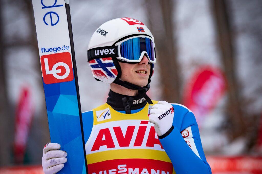 MŚ Oberstdorf: Granerud najlepszy w kwalifikacjach, komplet Polaków w konkursie