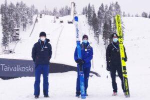 Alamommo i Oinas najlepsi w mistrzostwach Finlandii w Taivalkoski