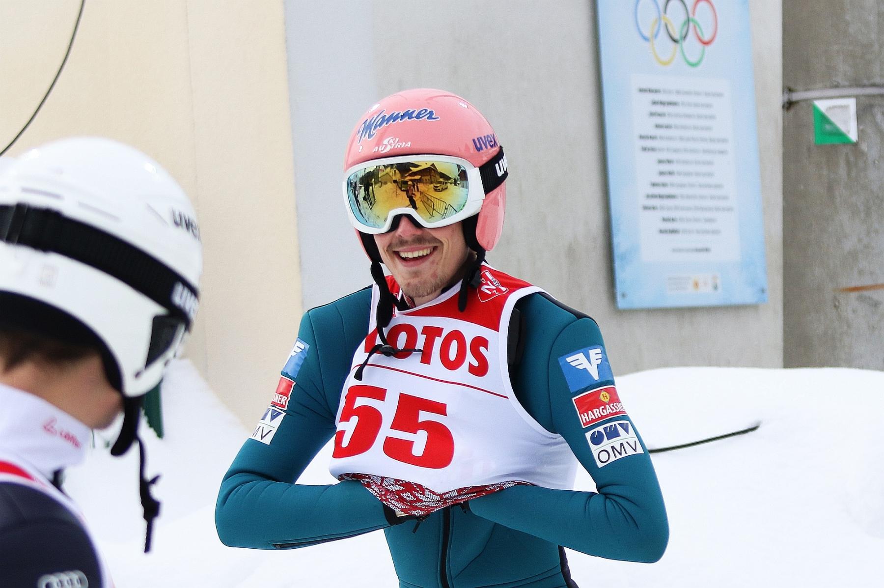 FIS Cup Lahti: Schwann najlepszy w serii próbnej, Polacy poza czołówką