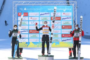 Prevc Schiffner Fettner Klingenthal2021 podium2konkurs fot.KonstanzeSchneider 300x200 - PK Klingenthal: Schiffner najlepszy w niedzielnym konkursie