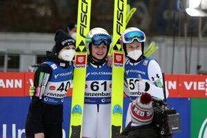 """Rogelj Kriznar Klinec Hinzenbach2021 fot.GEPAPictures 300x200 - Nika Križnar: """"Medal olimpijski? Taki jest cel"""""""