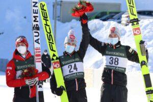 Steiner Braathen Pedersen Klingenthal2021 fot.KonstanzeSchneider 300x200 - PK Klingenthal: Schiffner najlepszy w niedzielnym konkursie