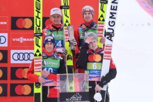 Huber Hayboeck Kraft Schiffner Planica2021 Austria fotBoBoOCPlanica 300x200 - PŚ Planica: Niemcy wygrywają jednoseryjny konkurs, Polacy nie zachwycili