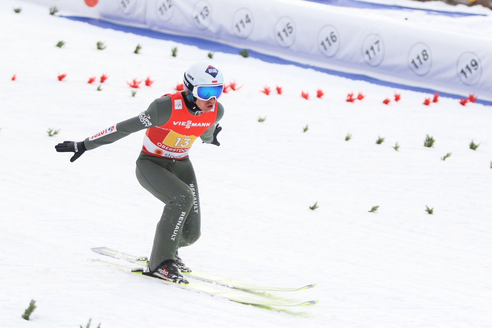 You are currently viewing MŚ Oberstdorf: Niemcy prowadzą, Polacy na trzecim miejscu, niewielkie różnice w czołówce!