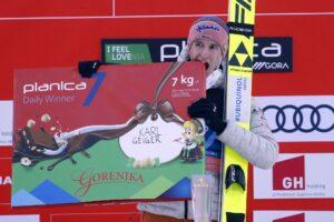 Karl Geiger Planica2021 fotBoBoOCPlanica3 300x200 - PŚ Planica: Geiger wygrywa piątkowy konkurs, Żyła siódmy, przeliczniki w roli głównej