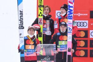 Nakamura Kobayashi Sato Kobayashi Planica2021 Japonia fotBoBoOCPlanica 300x200 - PŚ Planica: Niemcy wygrywają jednoseryjny konkurs, Polacy nie zachwycili