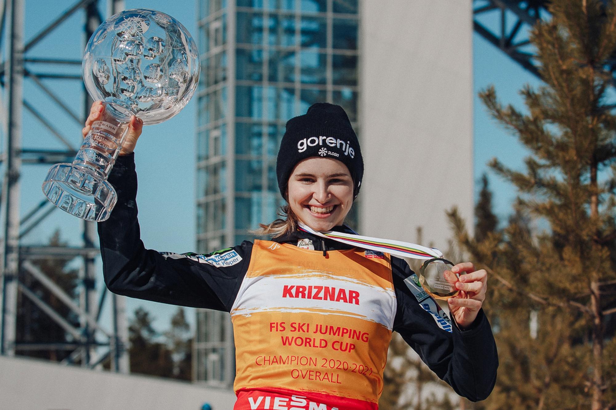 Nika Kriznar KrysztalowaKula2021Czajkowski fot.AlexeyKabelitskiy - Puchar Świata kobiet