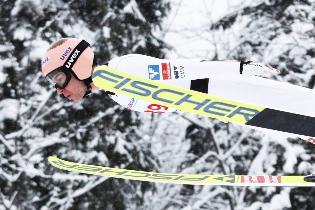 MŚ Oberstdorf: Kraft liderem po pierwszej serii, Żyła piąty