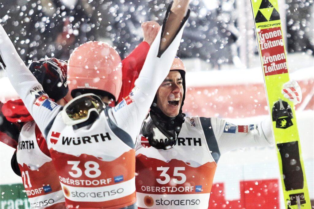 """""""Świszczące"""" kombinezony dały Austriakom medale? Stecher: """"Zostały zaakceptowane przez FIS"""""""