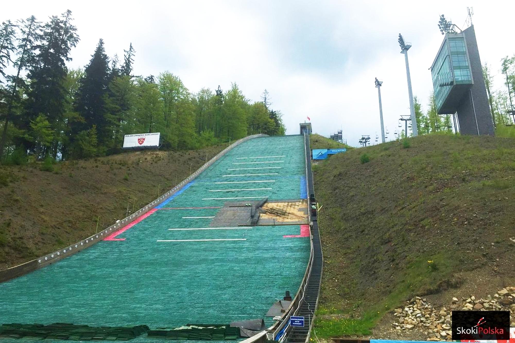 Kolejny remont skoczni w Wiśle. Zeskok ma być gotowy przed Letnim Grand Prix