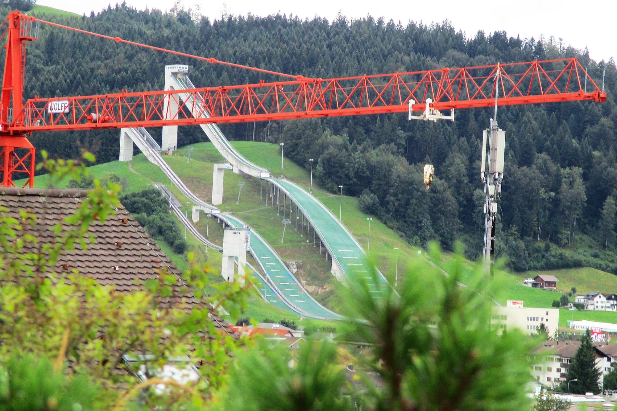 Kompleks skoczni w Einsiedeln doczekał się modernizacji