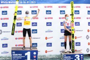 Bogataj Kramer Wisla2021 fotJuliaPiatkowska 300x200 - LGP Pań Wisła: Bogataj ponownie najlepsza, Takanashi z rekordem skoczni i upadkiem!