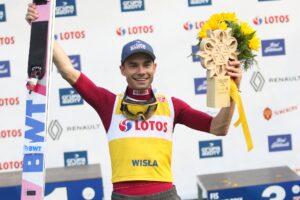 Read more about the article LGP Wisła: Jakub Wolny wygrywa sobotni konkurs, Dawid Kubacki też na podium!