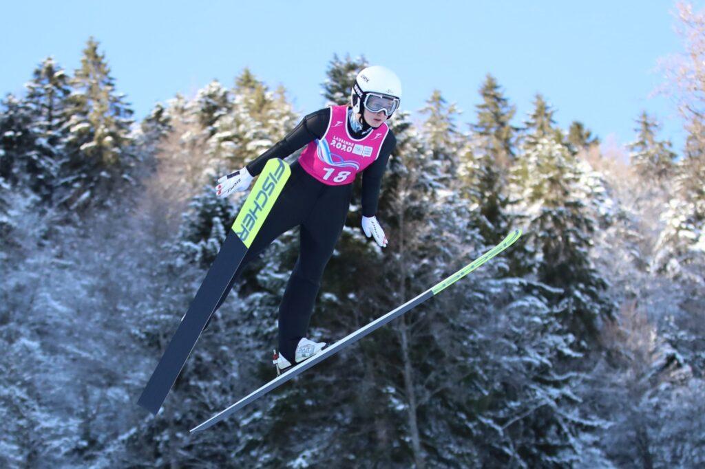 FIS Cup Pań Kuopio: Mühlbacher na czele serii próbnej