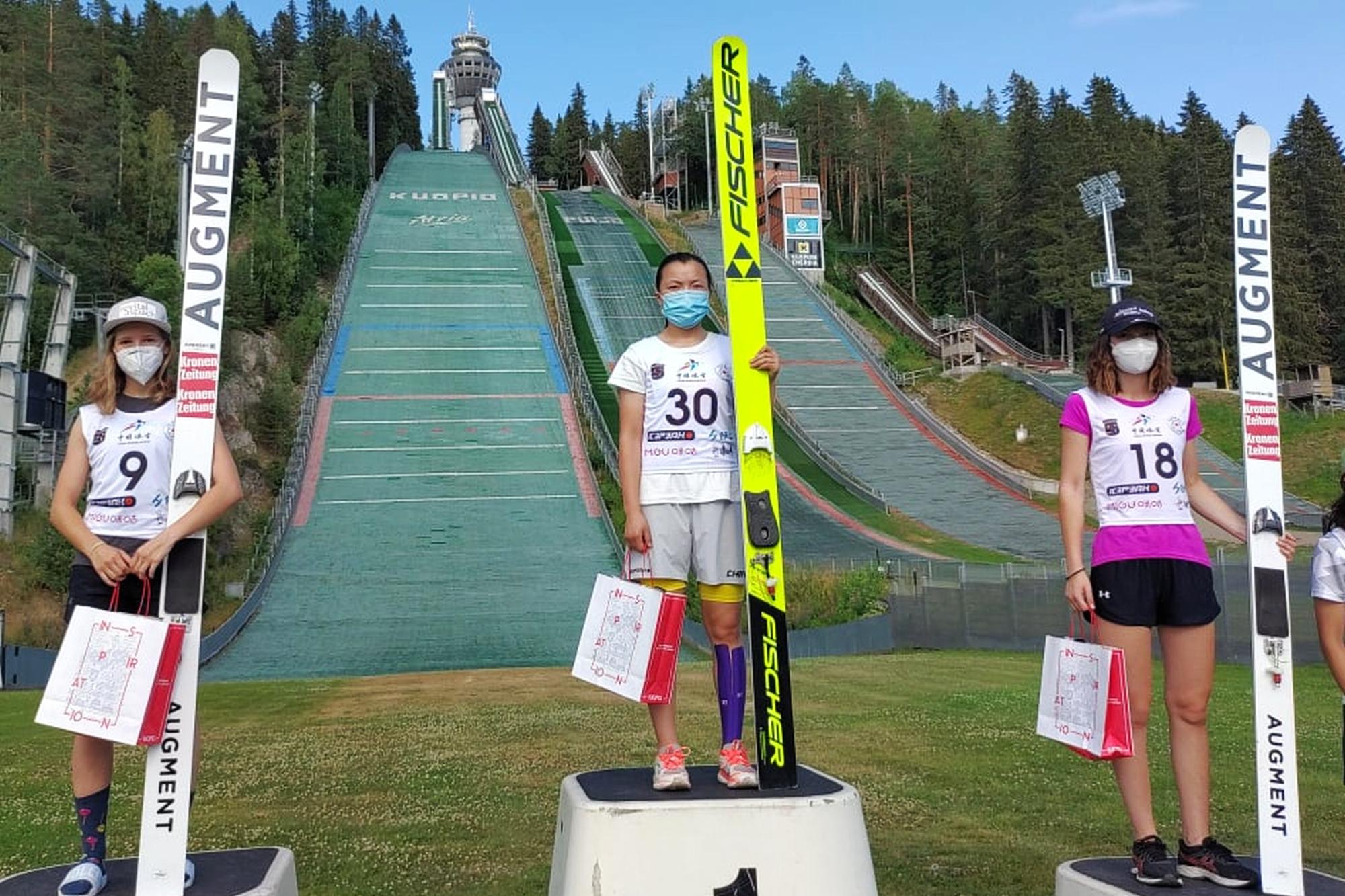 You are currently viewing FIS Cup Pań Kuopio: Premierowy triumf Shao, Karpiel najwyżej z Polek