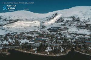 """Tromsoe wizualizacja fotArktiskArenaSkiforbundetNO 300x200 - Johann André Forfang o skoczniach w Tromsø: """"Zakończyć tam karierę, to byłoby spełnienie marzeń"""""""