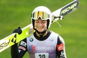 Read more about the article FIS Cup Pań w Gérardmer: Joséphine Pagnier wygrywa z rekordem skoczni