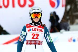 Read more about the article FIS Cup Pań Villach: Pierwsze zwycięstwo Niki Prevc w sportowym dorobku