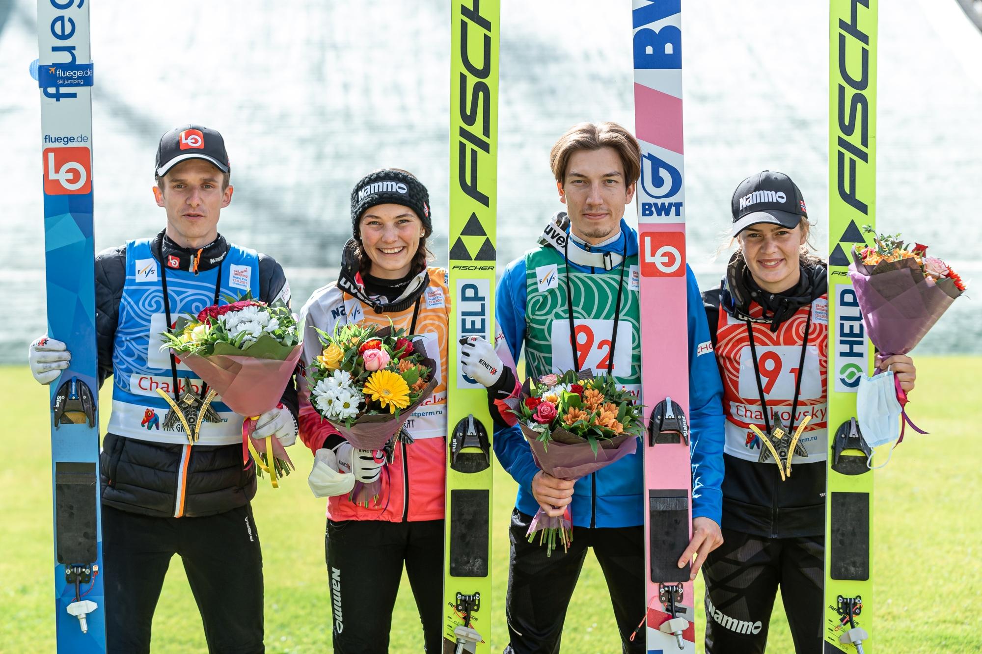 LGP Czajkowski: Norwegowie najlepsi w konkursie drużyn mieszanych