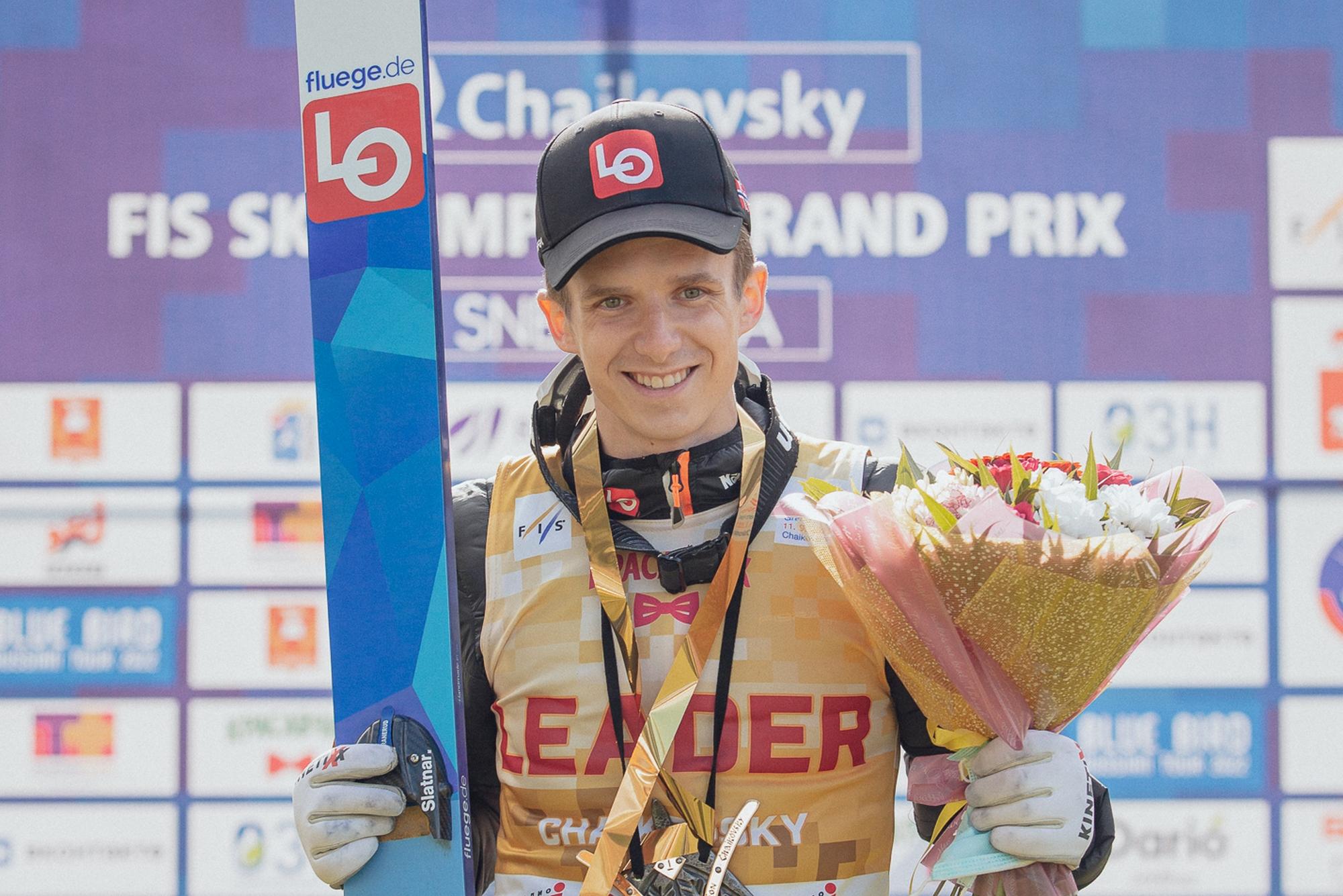 """Halvor Egner Granerud: """"Skaczę teraz znacznie lepiej, niż o tej samej porze w zeszłym sezonie"""""""