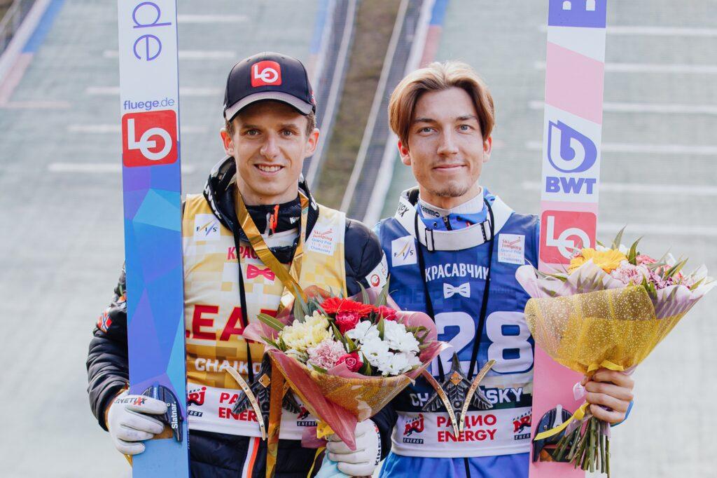 Read more about the article LGP Czajkowski: Granerud przeskoczył Klimova, Forfang otarł się o rekord skoczni