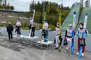 Read more about the article FIS Cup Lahti: Andre Fussenegger ponownie najlepszy, Jan Habdas na podium!