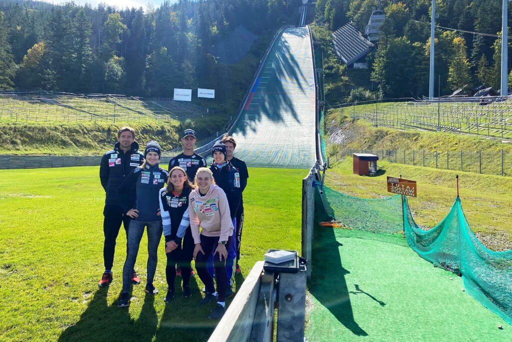 Read more about the article Słoweńcy gotowi na LGP w Hinzenbach, Słowenki trenują w Zakopanem