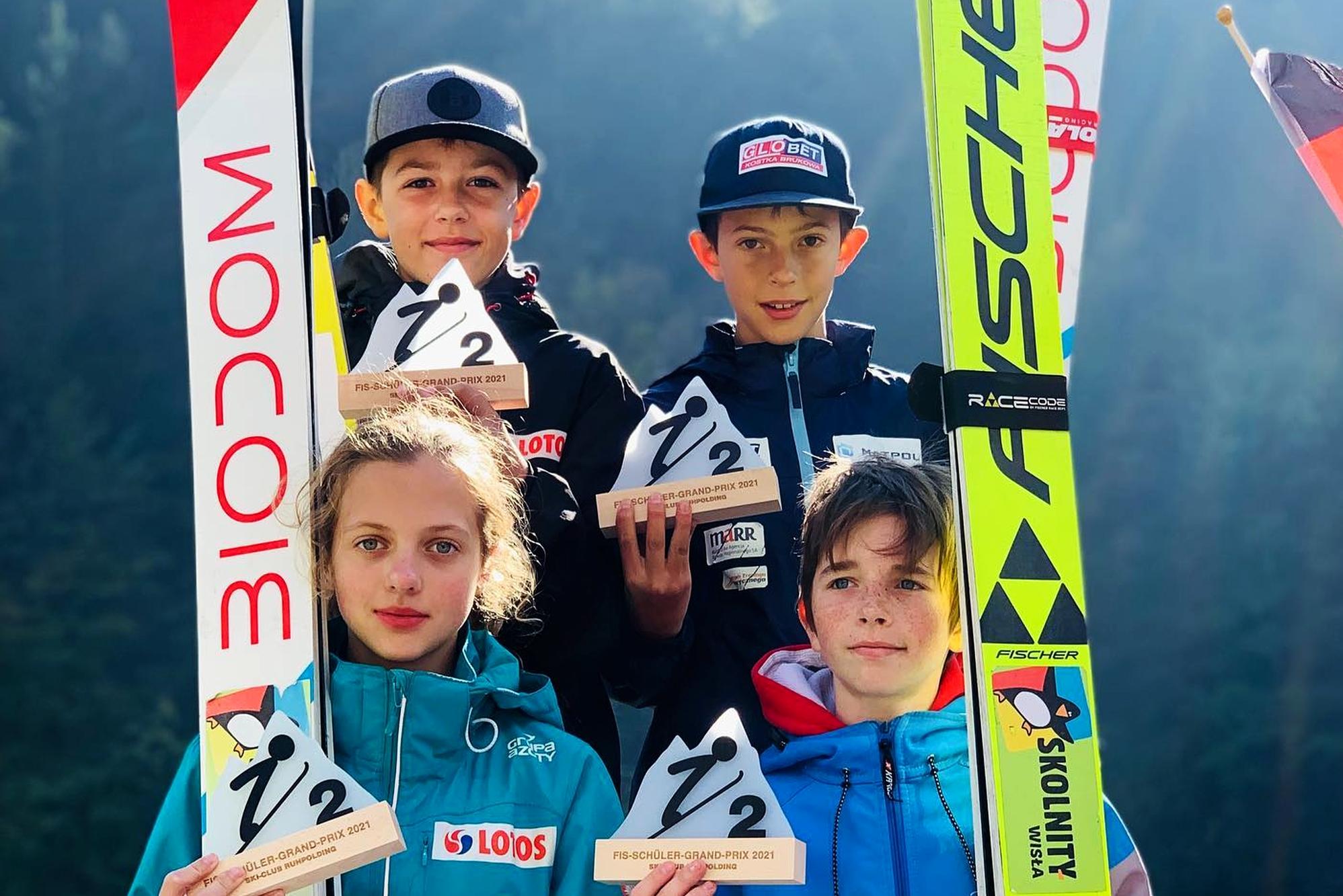 You are currently viewing FIS Schüler Grand Prix: Dominacja Słoweńców i trzy polskie podia w Ruhpolding
