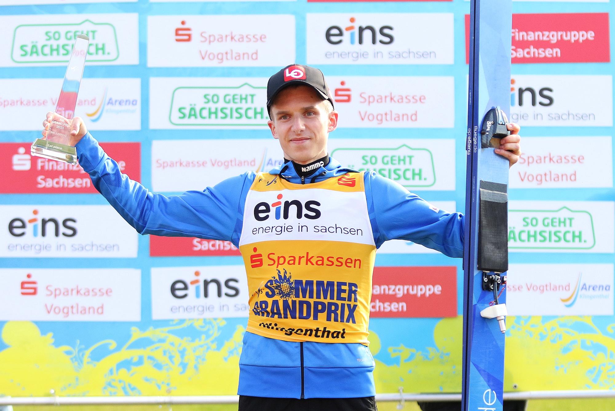 HalvorEgnerGranerud Klingenthal2021 fotJuliaPiatkowska - Letnie Grand Prix