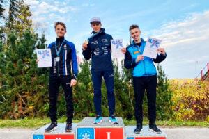 Read more about the article Kombinator norweski najlepszy na mistrzostwach Estonii w skokach narciarskich w Otepää