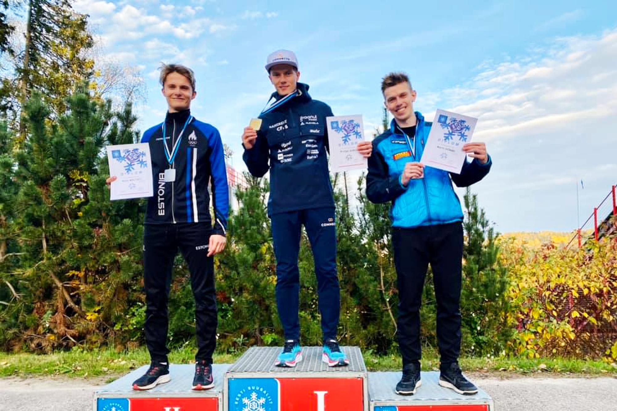 You are currently viewing Kombinator norweski najlepszy na mistrzostwach Estonii w skokach narciarskich w Otepää
