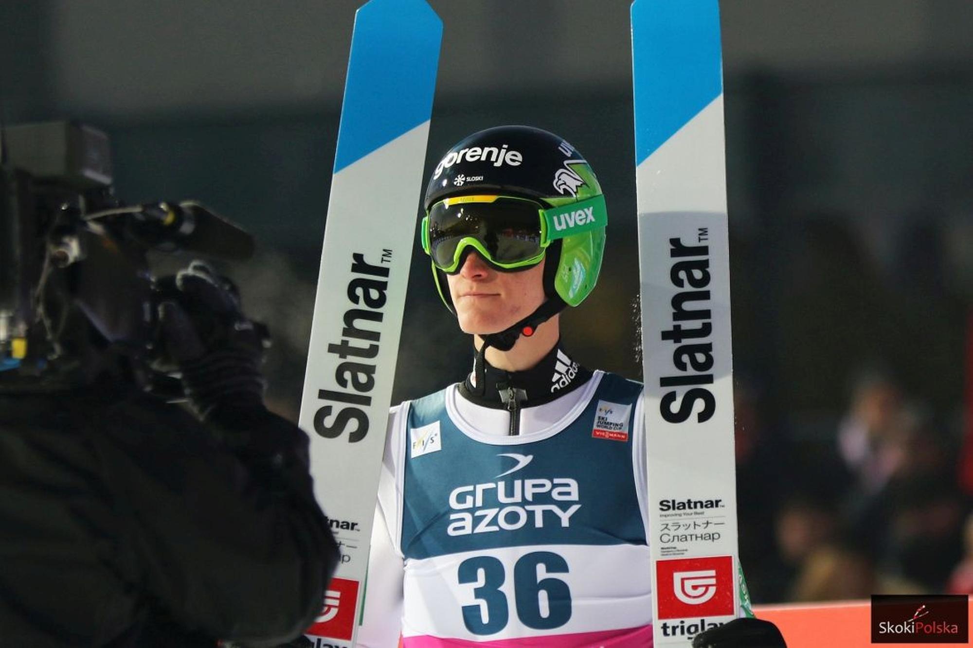 """You are currently viewing Prevc z nowymi nartami, Słoweńcy ćwiczą aerodynamikę. Hrgota: """"Szukamy detali, które wiele wniosą"""""""