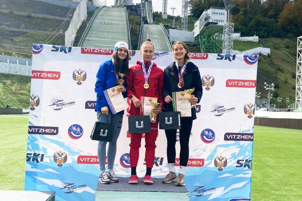 Read more about the article Irina Avvakumova mistrzynią Rosji na igelicie. Padł rekord skoczni olimpijskiej w Krasnej Polanie