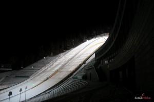 Kompleks skoczni w Lillehammer w 2015 r. (fot. Julia Piątkowska)