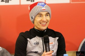 Kamil Stoch - lider klasyfikacji generalnej Pucharu Świata (fot. Julia Piątkowska)