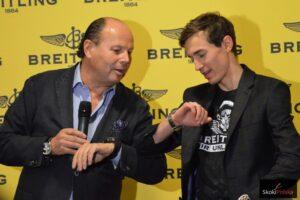 Kamil Stoch ambasadorem szwajcarskiej firmy Breitling