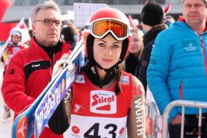 PŚ Pań Lillehammer: Seyfarth sensacyjną liderką, Twardosz poza finałem